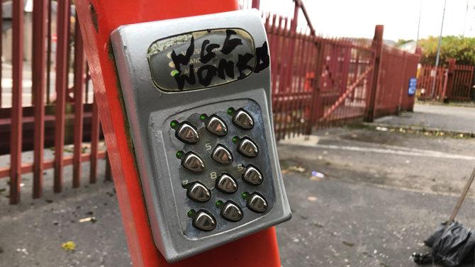 Keypad Chaos In Kircaldy