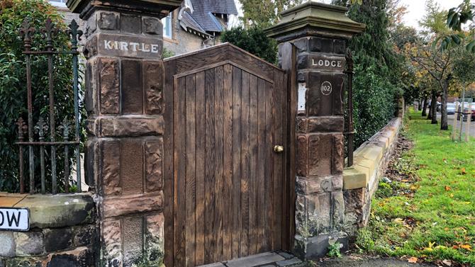 Kirtle Lodge Oak Gate