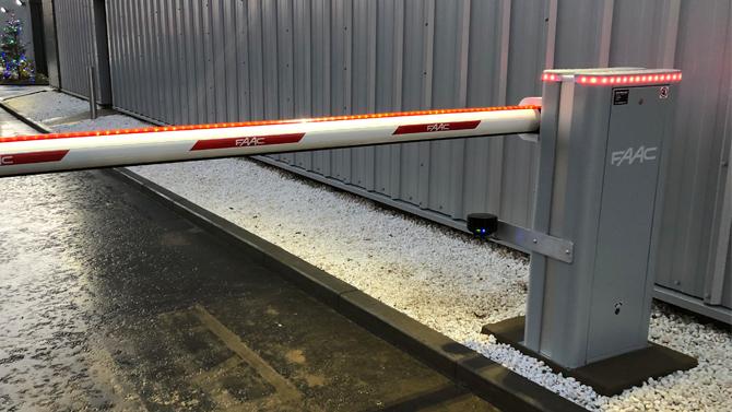 FAAC B680 Car Park Barrier Arm By Auto Entry Ltd