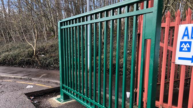 Industrial Swing Gate By Auto Entry Ltd